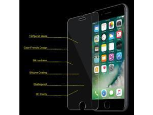 Premium Real Tempered Glass Screen Protector Guard for iPhone 6 Plus/ 6s Plus - pack of 2
