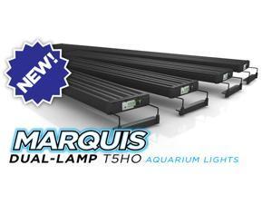 Aquatic Life Marquis Freshwater Aquarium Light Fixture 48-Inch T5 HO w/2-Lamps & Timer