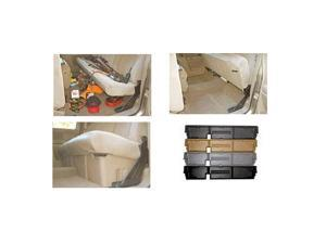 Underseat Storage Unit-Ford F-350 2000-2015-Tan-Super Duty/Supercab