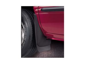 Original Style Mud Guards-GMC Envoy 2002-2008-Black-Also Fits XL and XUV Models, Rear Pair