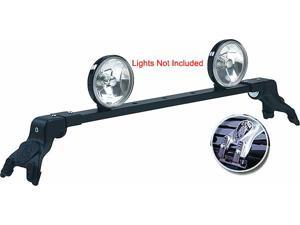 Light Bar Deluxe Rota-Chevrolet Suburban 1992-1999-Black-Gutter Mount - No Kit Required