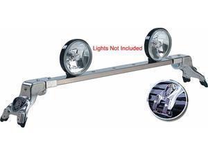 Light Bar Deluxe Rota-Dodge Fullsize Pickup 1974-1993-Polished-Gutter Mount - No Kit Required