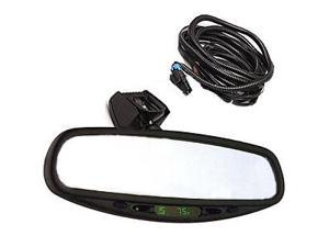 Auto Dimming Mirror-Domestic-Auto Dimming Mirror/Electronic Compass-Black