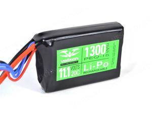 Valken Airsoft Battery - V Energy LiPo 11.1V 1300mAh 20C PEQ-15