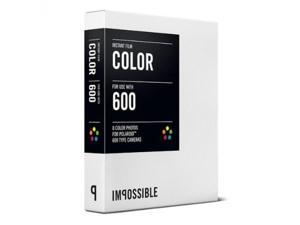 2x Impossible Instant Color Film for Polaroid 600-Type Cameras
