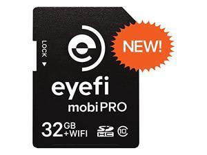 Eye-Fi 32GB SDHC Mobi-Pro Wireless Class 10 Memory Card with 1-Year Eye-Fi Cloud Service - MOBIPRO-32