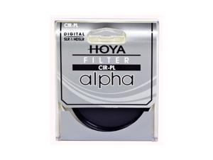 Hoya 77mm ALPHA Circular Polarizer Cir-PL Filter