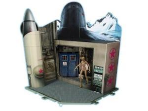 Doctor Who Cold War Time Zone Action Figure Playset with Ice Warrior!