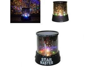 Amazing Light Romantic Multi-Color  Sky LED Light Projector Lamp  Room Decorate