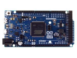Arduino Due Authentic Made in Italy 3.3 Volt 84 MHz ARM 512KB Flash 96KB SRAM Development Board for Electronic Device Development, Design, and Classroom. C++ Coding & compatible with some shields.