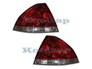 2006-2013 Chevrolet/Chevy Impala Taillight Taillamp Rear Brake Tail Lamp Light Set Pair Right Passenger And Left Driver Side ...