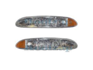 1999 2000 2001 2002 2003 2004 Oldsmobile/Olds Alero Front Halogen Headlight Headlamp Head Light Lamp Assembly ...