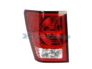 2007-2008-2009-2010 Jeep Grand Cherokee Taillamp Taillight Rear Brake Tail Light Lamp Left Driver Side (07 08 09 10)