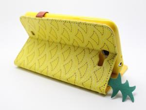 COOMAST Leather Case for Samsung N7100 case mobile phone N7100 GALAXY Note II  Genius Leather(light yellow)