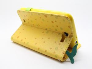 COOMAST Leather Case for Samsung N7100 case mobile phone N7100 GALAXY Note II  Genius Leather(yellow)