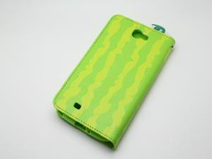 COOMAST Leather Case for Samsung N7100 case mobile phone N7100 GALAXY Note II  Genius Leather(green)