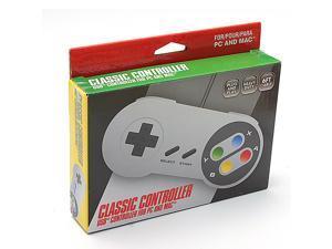 SNES USB Wired Controller Nintendo Famicom SF for Windows PC Mac