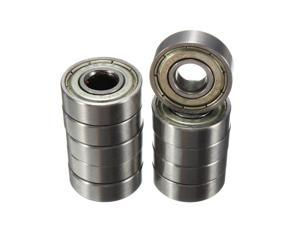 10Pcs Bearing Steel Carbon Steel Skateboard Sco?oter Roller Ball Skate Bearings Wheels ABEC-5 608