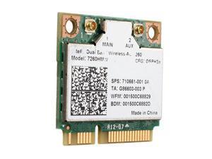 Intel 7260HMWDTX1 Dual Band Wifi Bluetooth 4.0 Half Mini PCI-E Wlan Card Wireless-AC 7260 for DesktopIEEE 802.11ac, IEEE 802.11a/b/g/n PCIe x1