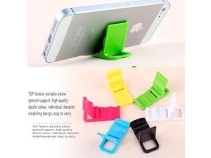 New Universal Foldable Mini Stand Holder For Cell Phone Mobile Phone Gadgets HTC iPhone 5/5s/6/6 Plus Samsung Nokia