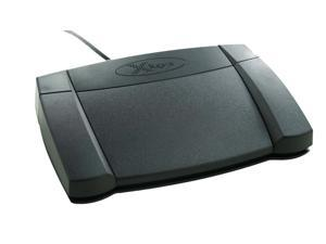 X-Keys XK-3 Rear Hinged Programmable USB Foot Pedal