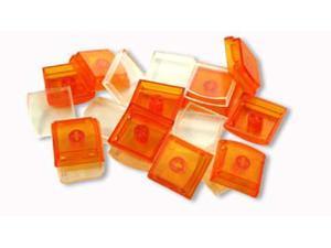 X-Keys Orange Keycaps (Set of 10)