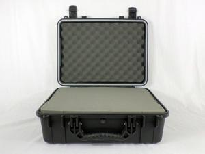 Condition 1 #227 Black Airtight Watertight Protective Hard Case with Pick-N-Pluck Foam