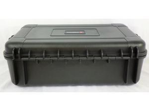 Condition 1 #535 Black Airtight\Watertight Multipurpose Carrying Hard Case with Pick N Pluck Foam