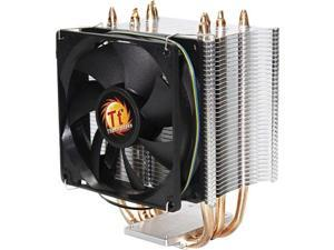 Thermaltake Contac 21 Universal CPU Cooler Direct-Touch Heat Transfer Technology 140W TDP with Dual 92mm PWM Fans and Four 6mm Heatpipes CLP0600