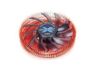 Zalman CNPS2X Mini-ITX CPU Cooler for Intel LGA 1155/1156/1150/775 & AMD Socket FM1/FM2/AM3+/AM3/AM2+/AM2, w/ Thermal Grease - RETAIL