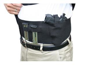 Belly Band Hand Gun Holster - Abdomen Holster - Cross Draw