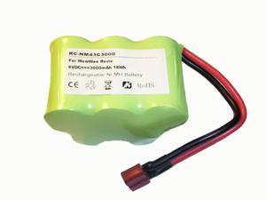 Replacement 3000mAh 5LMH-43SC3000-W-T Battery for WowWee Rovio Wi-Fi Enabled Robotic Webcam