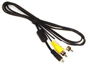 Replacement VMC-15CSR1 AV Audio/Video RCA Cable Cord for Sony Cybershot Digital Cameras