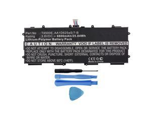 Replacement 6800mAh T4500E, AA1D625aS/7-B Battery for Samsung Galaxy Tab 3 10.1 GT-P5200, GT-P5210, GT-P5220 Tablets