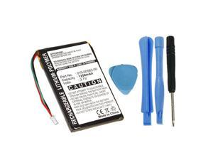 Replacement 361-00019-11 010-00583-00 Battery for Garmin Nuvi 700 710 710T 750 755 755T 760 760T 765 770 770T 775 785 GPS Navigation Units