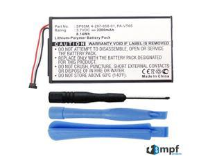Replacement 2200mAh SP65M, SP654580, PA-VT65 Battery for Sony Playstation PS Vita PSV PCH-1001, PCH-1101 with Installation Tools