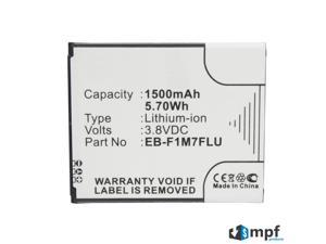 1500mAh EB-F1M7FLU, EB-FIM7FLU Battery Replacement for Samsung Galaxy S3 Mini, Galaxy SIII Mini, Galaxy S3 Mini Value Edition, GT-I8190, GT-I8190N, GT-I8190T, GT-I8200, GT-I8200L