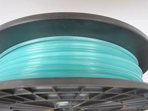 MakeMendel Glow in Blue PLA Filament 1.75 for 3D Printer.