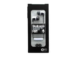 Skullcandy Riff Wired Earbuds White/Black  S2RFDA-074
