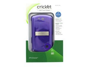 Cricket Soft Touch Shield Case for ZTE Groove - Purple - CPC1833