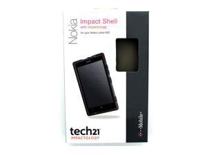 T-Mobile Tech21 D3O Impact Shell Case for Nokia Lumia 925 - Smoke