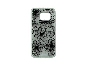 Sonix Clear Coat Case for Samsung Galaxy S7 - Boho Floral Black