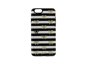 "Sonix Inlay Case for iPhone 6 4.7"" - Bow Stripe Gold"