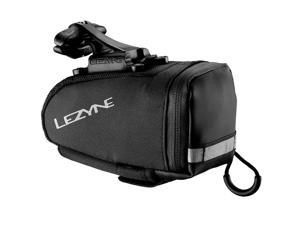 Lezyne Caddy QR Seat Bag Medium Black Matrix Seat-Rail Mount Bike Saddle Bag