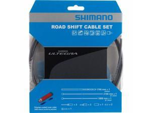 Shimano Ultegra SP41 Polymer-Coated Deraileur Cable Set High-Tech Gray