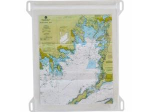Seattle Sports Dry Doc Map Case with Lashpoints : Clear LG Large