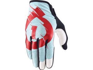SixSixOne Raji Full Finger Glove : Blue MD Medium