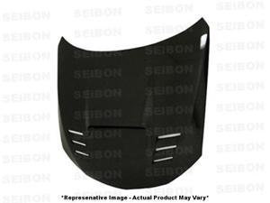 SEIBON Carbon Fiber Hood HD0809SBIMP-CWII Fits: SUBARU 2008 - 2014 IMPREZA WRX