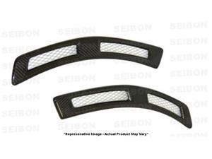 SEIBON Carbon Fiber Fenders FD0809MITEVOX Fits: MITSUBISHI 2008 - 2014 LANCER E