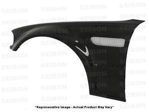 SEIBON Carbon Fiber Fenders FF0105BMWE46M3 Fits: BMW 2001 - 2005 M3  Coupe